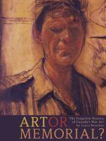 Art or memorial?: the forgotten history of Canada's war art