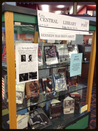 Kennedy titles at the Society & Recreation Department