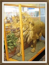 Toronto Digital Archive:  Reverend Thomas W. Pickett on veranda of Golden Lion Hotel
