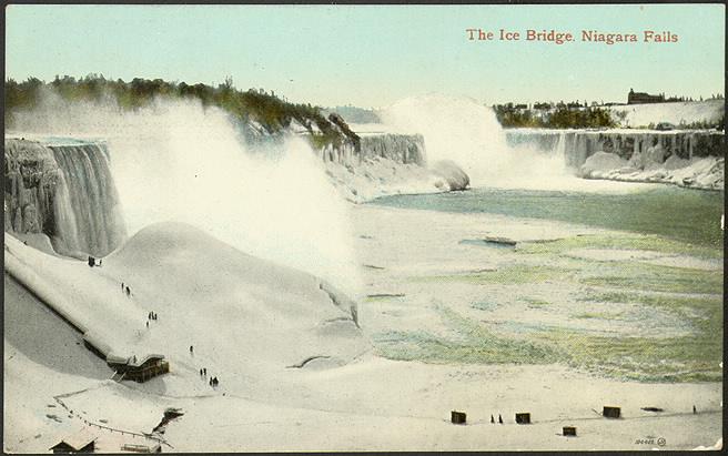 The Ice Bridge, Niagara Falls (1910) by Valentine & Sons' Publishing Co. Ltd