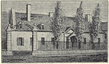 Government House: Chateau de Ramezay, Montreal by Elizabeth Posthuma Simcoe, 1792