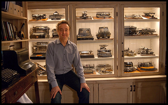 Link to CBC Video: Toronto man has Canada's largest collection of vintage typewriters